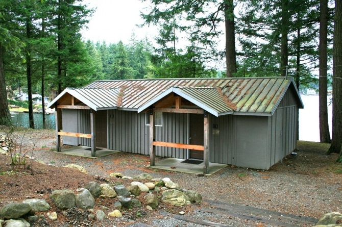 Lakeside Cabin Photo